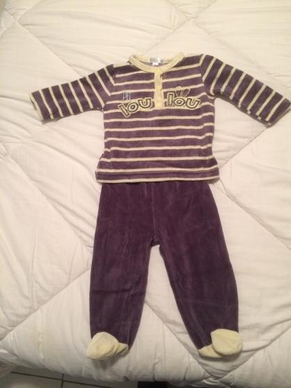 Annonce occasion, vente ou achat 'Pyjama velours 6 mois'
