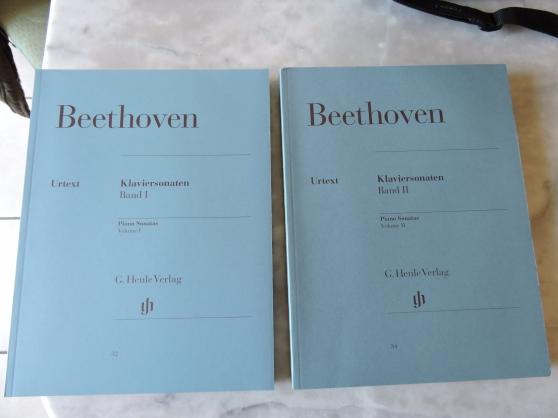 Beethoven klaviersonaten vol 1 et 2