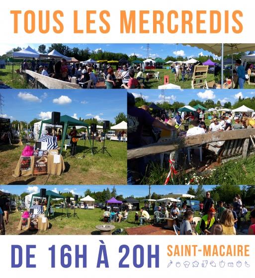 Annonce occasion, vente ou achat 'Marché Citoyen de Saint-Macaire'
