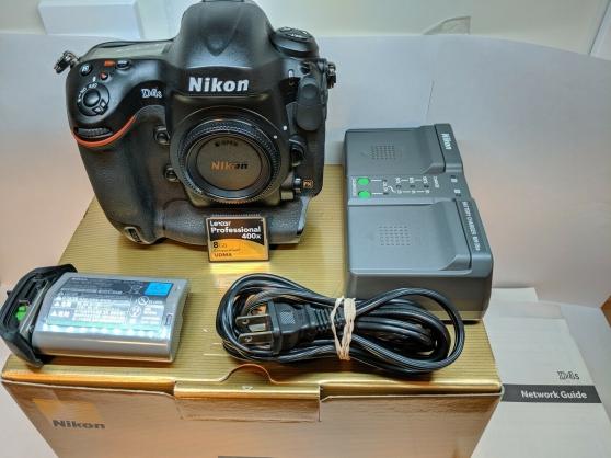 Annonce occasion, vente ou achat 'Boîtier reflex Nikon d4s'