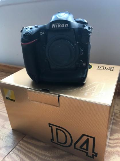 Reflex Nikon D4 Body wit XQD, un slot C