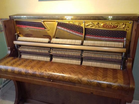 Annonce occasion, vente ou achat 'Piano Droit GAVEAU E125, frisé à chevron'
