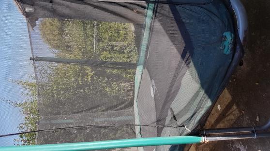 grand trampoline 2 x 3 m d'occasion