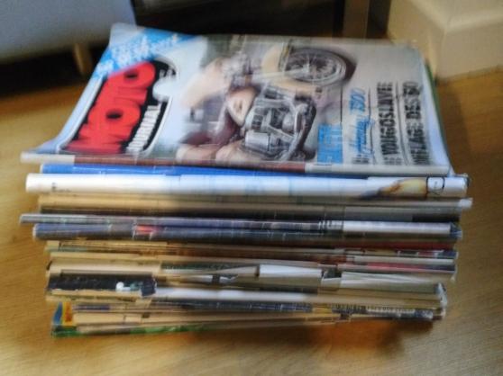 Annonce occasion, vente ou achat '43 Magazines moto'