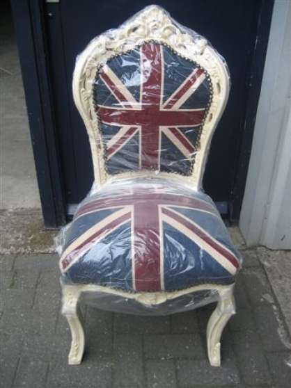 chaises baroque louis xv union jack meubles d coration chaises fauteuils st brieuc. Black Bedroom Furniture Sets. Home Design Ideas