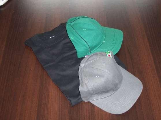 Tee-shirt et casquettes publicitaires
