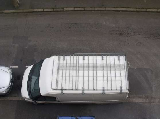 Petite Annonce : Galerie de toit mts ford transit - Galerie de toit + échelle en acier galvanisé de la marque MTS  très