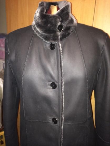 Neuf Fourrures Vêtements Cuir Femme Long Mouton Manteau Forestland À Hq50X