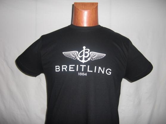 T-shirt marqué Breitling