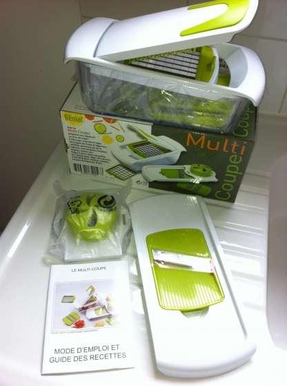 Coupe légumes et fruits neuf sous scellé - Photo 3