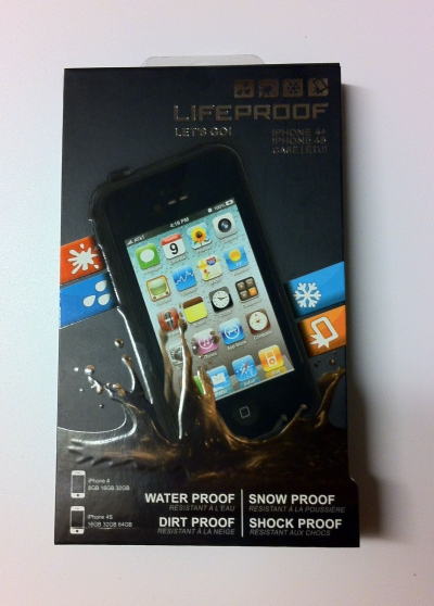 coque iphone 4 / 4s lifeproof
