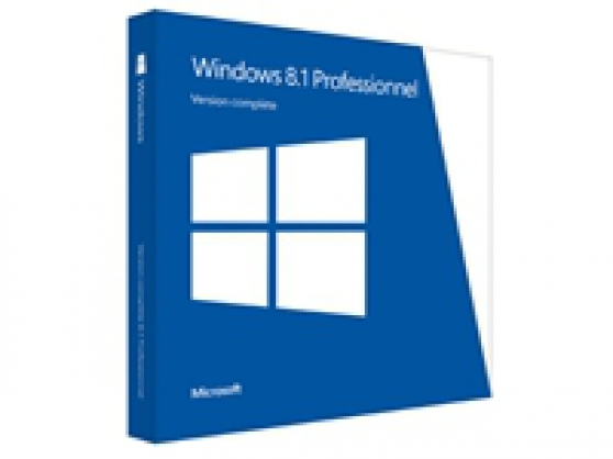Windows 8.1 Pro - licence et support
