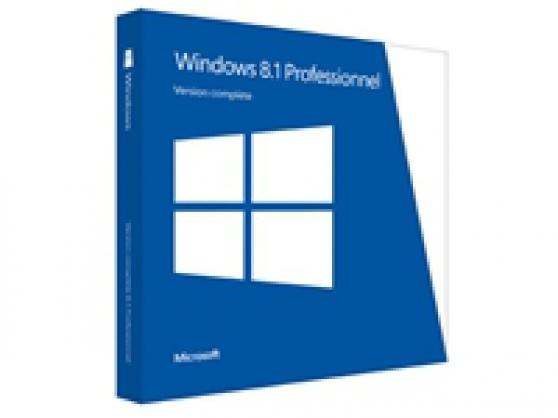 Annonce occasion, vente ou achat 'Windows 8.1 Pro - licence et support'
