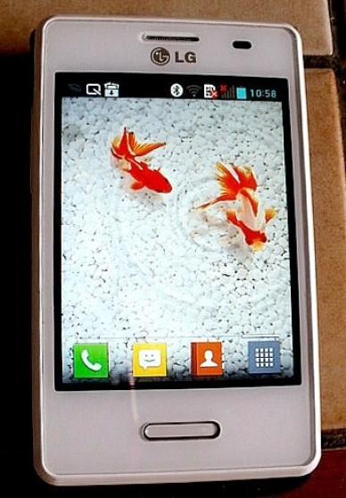Téléphone mobile LG Optimus L3 II E430 -