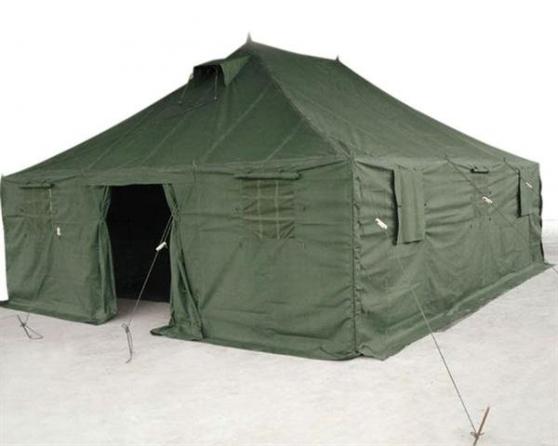 Annonce occasion, vente ou achat 'tente militaire 4.8mx4.8 neuve surplus'