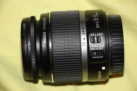 Objectif Canon 18-55 IS (pour réflex eos