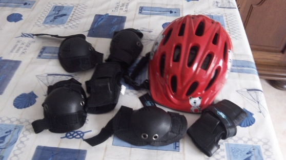 Tricycle et casque
