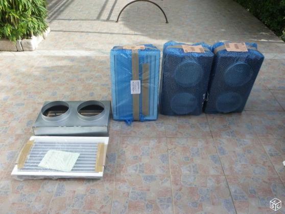 Annonce occasion, vente ou achat 'Plenums + grilles de reprise porte filtr'
