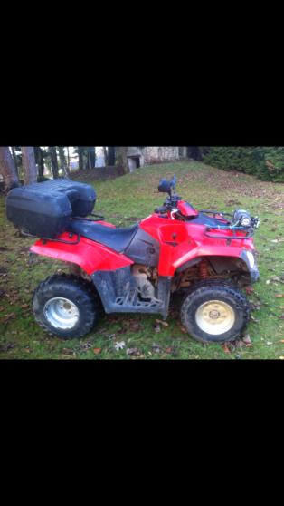 Quad Kymco 300 MXU Rouge - Etat neuf