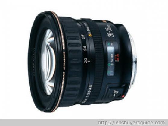 objectif canon zoom lens ef 20-35mm - Annonce gratuite marche.fr