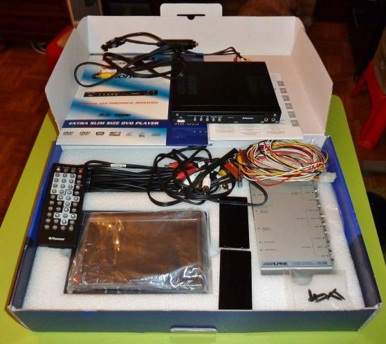 Ecran ALpine lecteur DVD haut de gamme - Photo 2