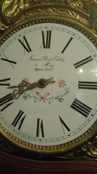 vend horloge comtoise en merisier - Annonce gratuite marche.fr