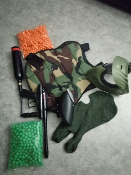 Annonce occasion, vente ou achat 'Kit paintball complet'