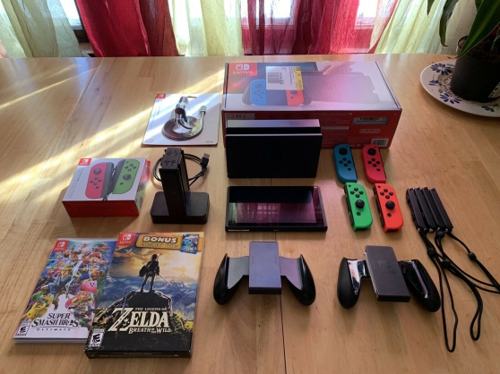 Annonce occasion, vente ou achat 'Nintendo Switch neuve en très bon état'
