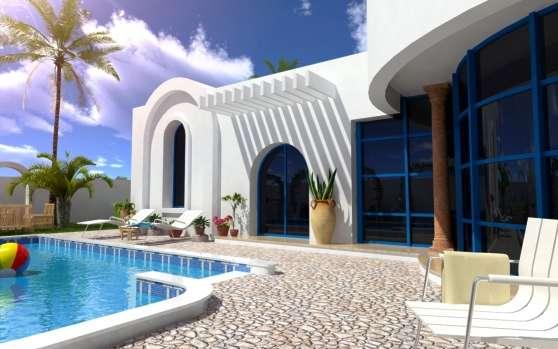 Achat villa neuve à Djerba proche plage