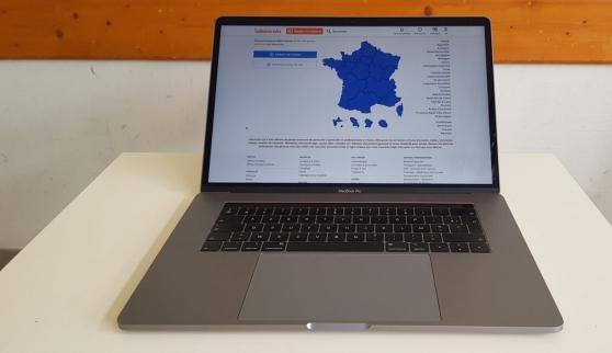 Annonce occasion, vente ou achat 'Macbook Pro (touch bar, 15 pouces, 2018)'