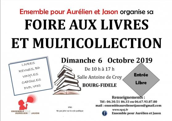 Annonce occasion, vente ou achat 'Foire aux Livres & Multi collection 19'