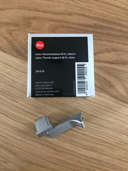 Annonce occasion, vente ou achat 'Leica M10 silver'