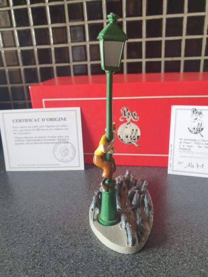 Annonce occasion, vente ou achat 'Tintin, le réverbère et les rats'