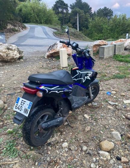 scooter mbk stunt bleu unique - Photo 3