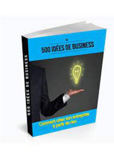 Livre 500 Idées de Business