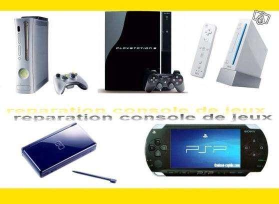Reparation Consoles de jeux Ps3 ,Iphone