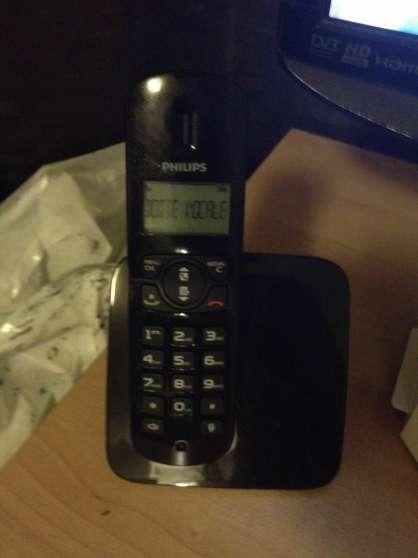 Telephone fixe sans fils et repondeur