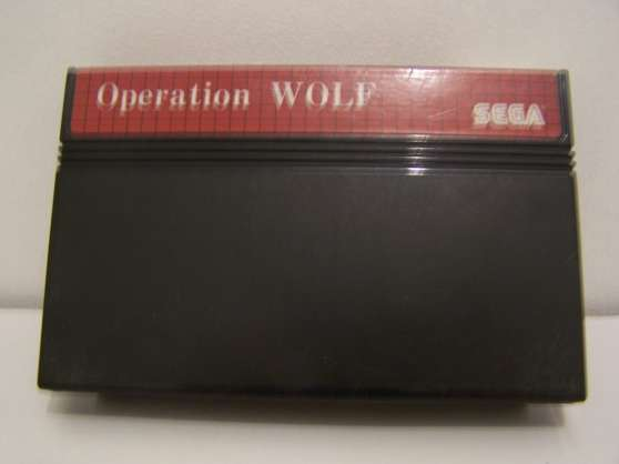 Annonce occasion, vente ou achat 'operation wolf master system'