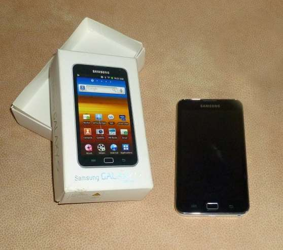 Annonce occasion, vente ou achat 'SAMSUNG GALAXY S WIFI 5.0 (YP-G70)'