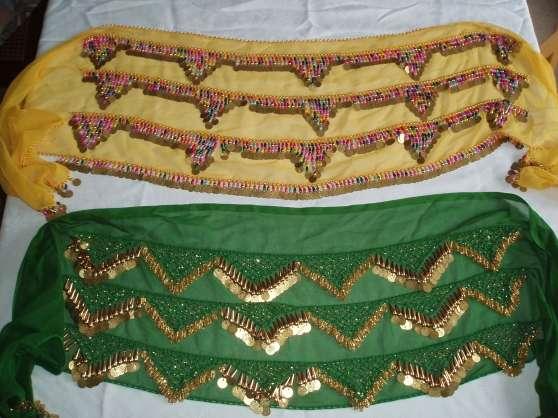 Annonce occasion, vente ou achat 'Ceintures jaune et verte de danse orient'