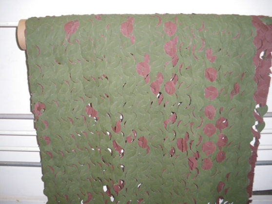 Filet camouflage 156m2 rouleau complet s