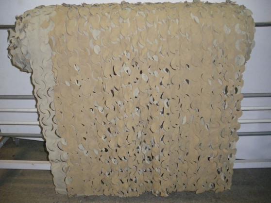 Filet camouflage desert 156m2 rouleau 78