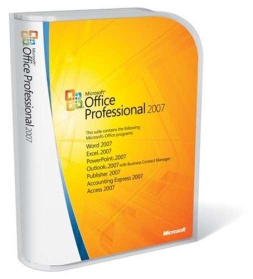 Microsoft Office Professionnel 2007 FULL