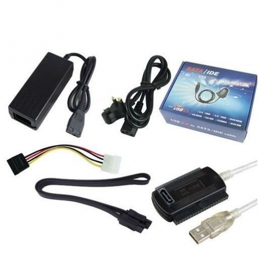"Adaptateur SATA-IDE 3.5""- 2.5"" (USB 2.0)"