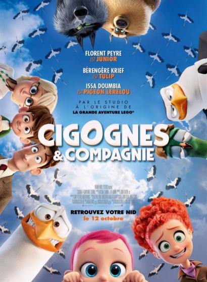 """Petite Annonce : Place de cine \""""cigognes et compagnie\"""" - Place de ciné pour aller voir \""""Cigognes et compagnie\"""" place valable"""
