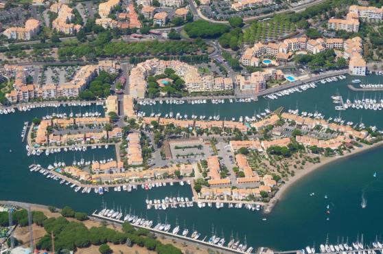 Parking privé Cap Agde Ile des Marinas
