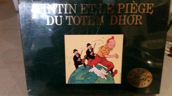 Petite Annonce : Tintin et le piège du totem dhor - Bonjour, je recherche le jeu de société TINTIN ET LE PIÈGE DU TOTEM