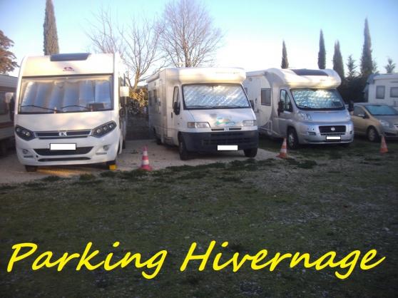 Petite Annonce : Parking pour hivernage de camping-car - Situé à environ 25 minutes de la sortie 24 de l\'autoroute A7