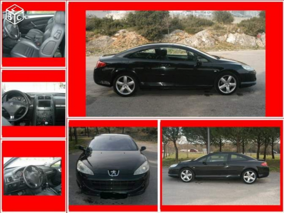 Petite Annonce : Peugeot 407 coupe 2.7 v6 hdi griffe bva - Vend PEUGEOT 407 COUPE 2.7 V6 HDI GRIFFE BVA de couleur noir, 13 CH