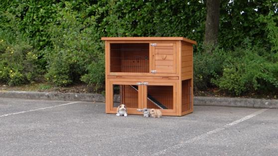 Clapier pour lapin Marianne - Photo 2